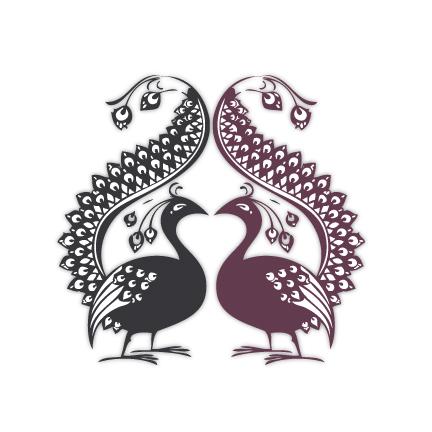 2peacocks